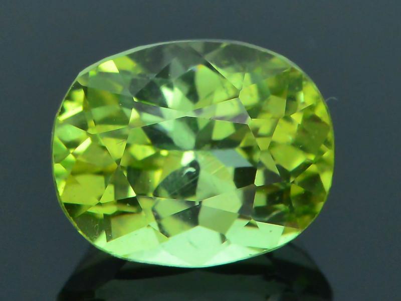 AAA Grade 1.64 ct Afghan Lime Green Tourmaline Sku-33