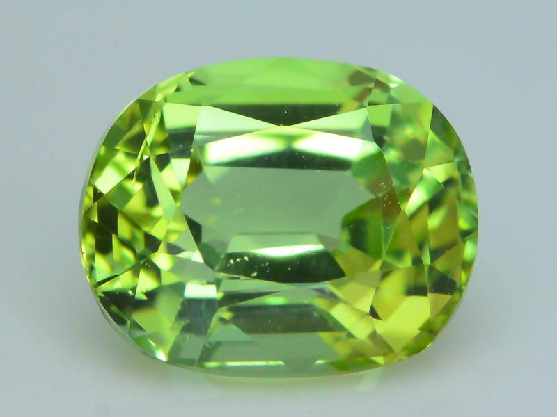 AAA Grade 1.33 ct Afghan Lime Green Tourmaline Sku-33