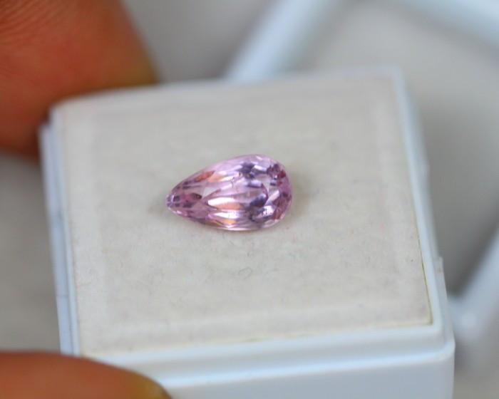 2.18ct Pink Kunzite Pear Cut Lot D83
