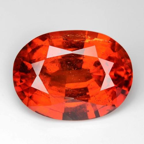 9.38 Cts Natural Fanta Orange Red Spessartite Garnet  Gemstone