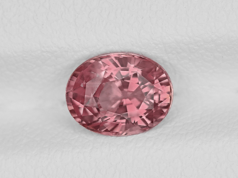 Padparadscha Sapphire, 1.35ct - Mined in Madagascar   Certified by GIA