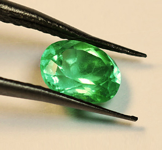 2.37 ct High-End Zambian Emerald Certified!