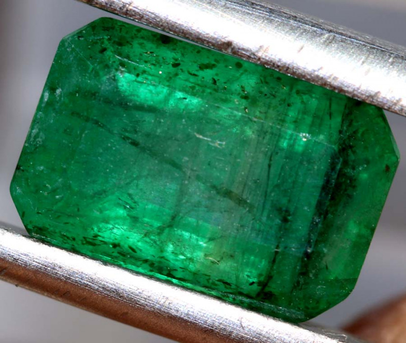 2.85 CTS  ETHIOPIAN EMERALD POLISHED GEMSTONE TBM-1806