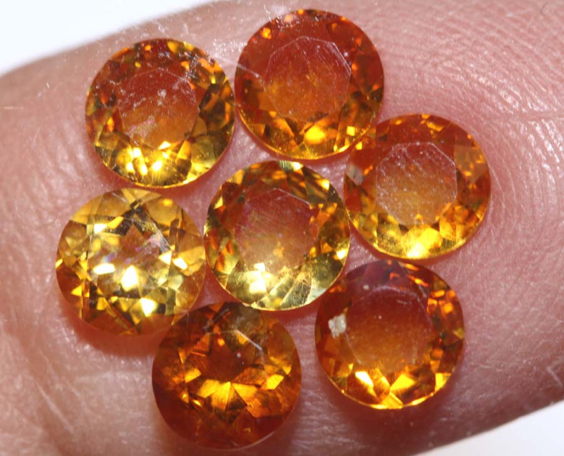 2.65-CTS CITRINE NATURAL FACETED  PARCEL CG-2660