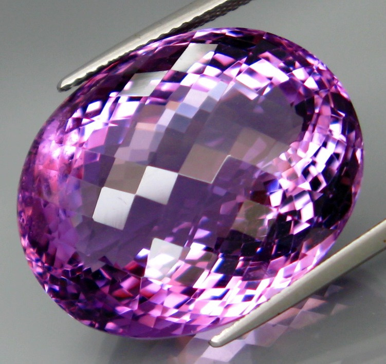 44.72  ct. Natural Top Nice Purple Amethyst Unheated Brazil - IGE Сertified