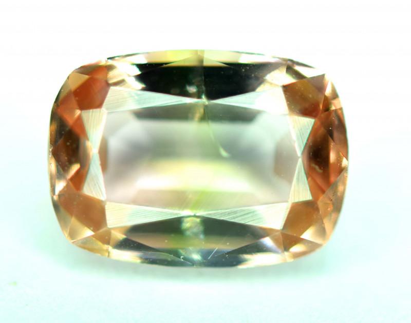 3.70 Carats Bi-Color Tourmaline Gemstone