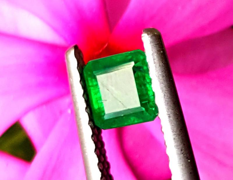 0.90 Carats Natural Rare Swat deep color Emerald gemstone From Pakistan