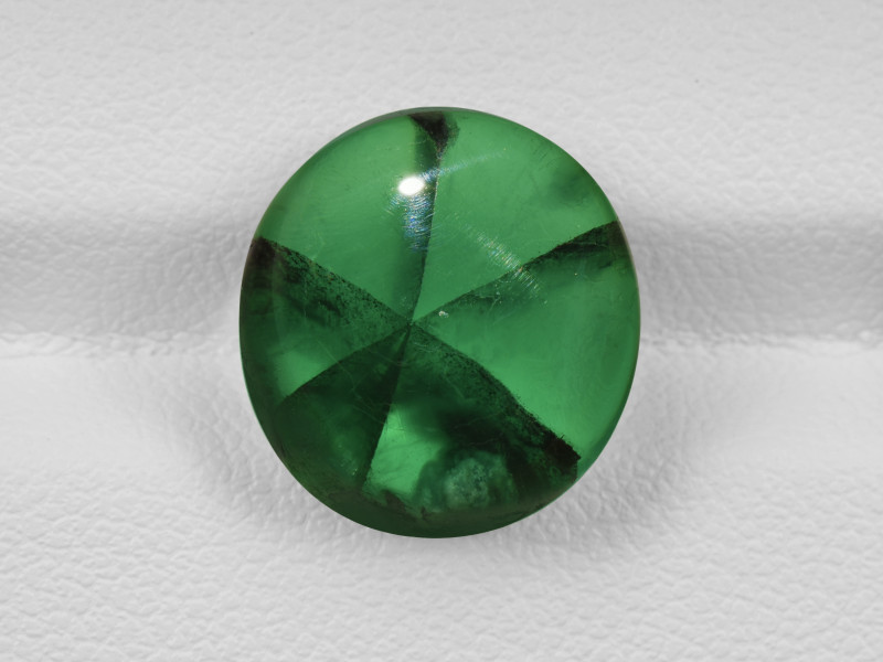 Trapiche Emerald, 8.17ct - Mined in Colombia | Certified by GIA