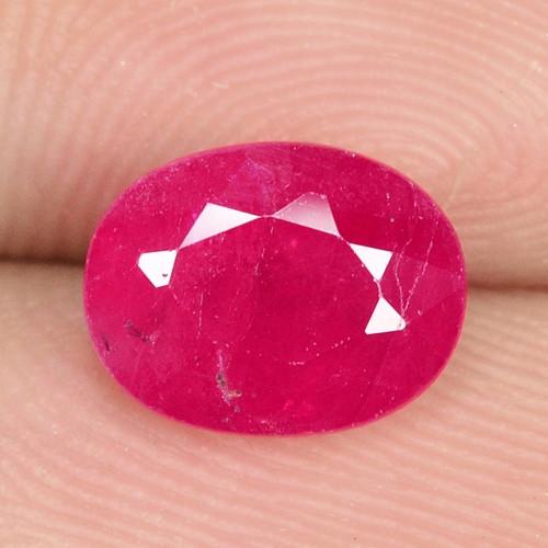 1.98 Cts NATURAL PINKISH RED RUBY LOOSE GEMSTONE