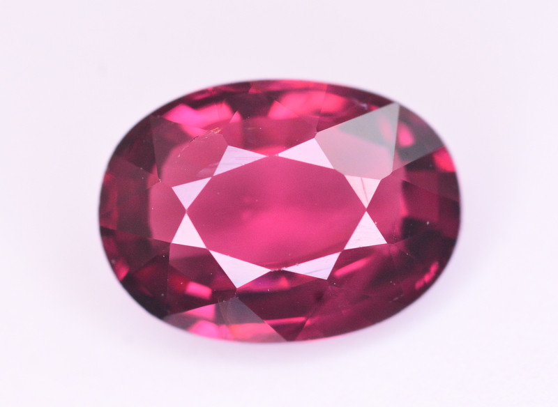 Rarest 2.55 Ct Amazing Color Natural grape Garnet ~ Mozambique