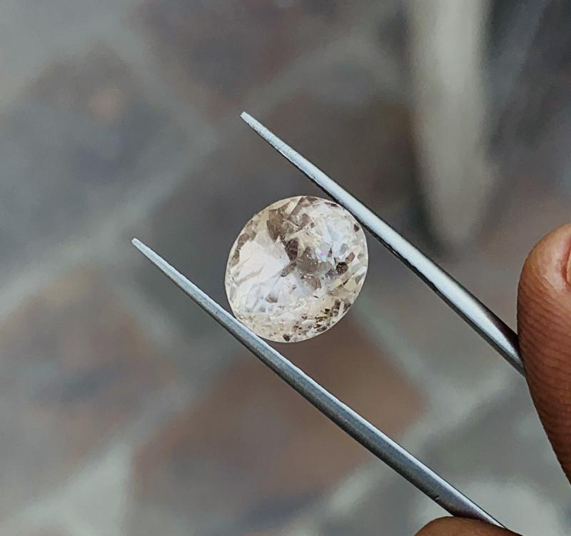 7.90 Ct Natural Brownish Transparent Topaz Gemstone