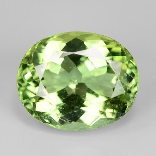 3.98 Cts Natural Green Color Tourmaline Gemstone
