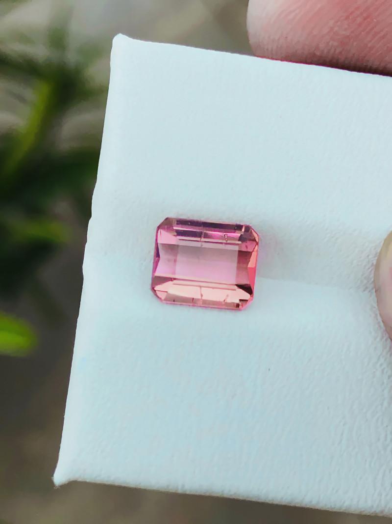 1.70 Ct Natural Pinkish Transparent Tourmaline Gemstone