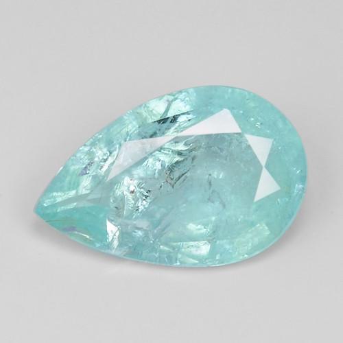1.22 Cts Copper Bearing Neon Color Natural Paraiba Tourmaline Gemstone