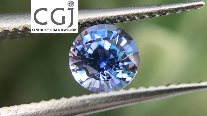 Certified - 0.36ct - Blue Sapphire