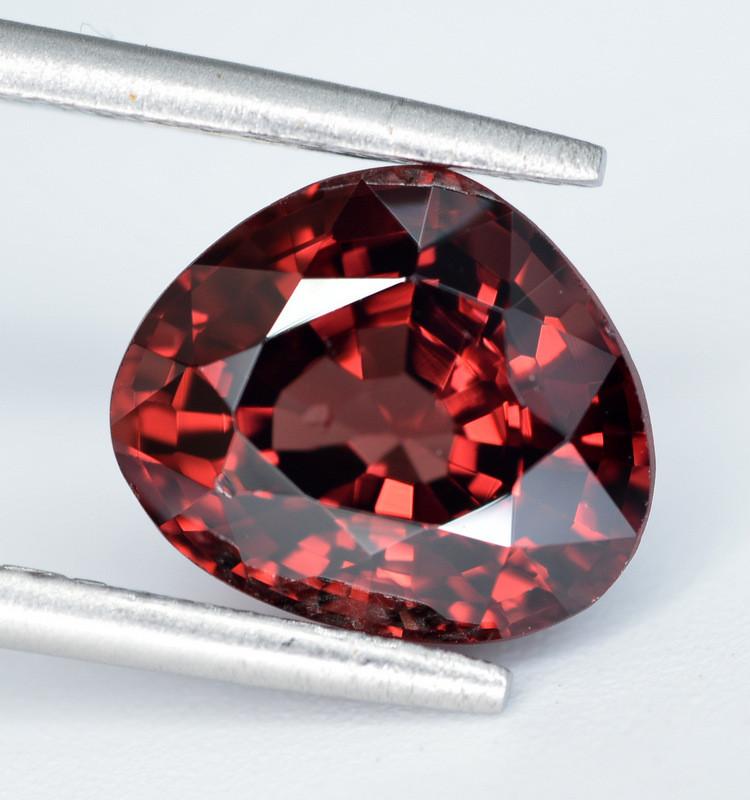 AIG CERT ~ 3.027 Ct Natural Red Spinel ( burma ) Gemstone