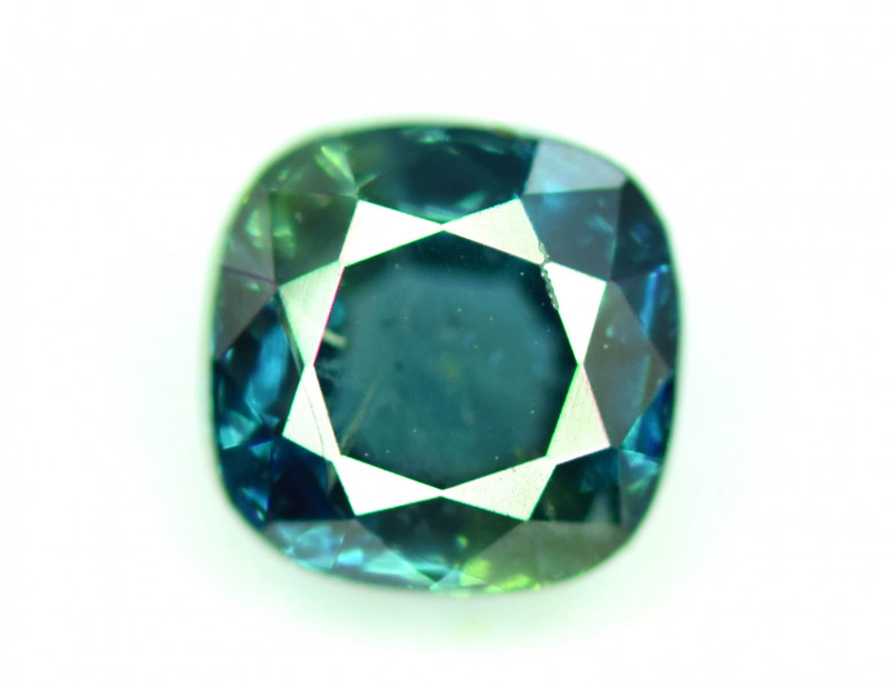 1.25 CT Bi-Color Flawless Parti Sapphire Gemstone Perfect Cut