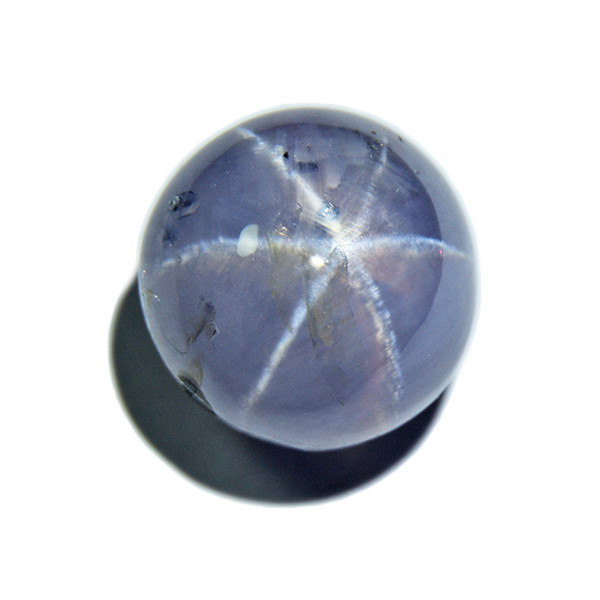 BIG Untreated Star Sapphire 6.23ct, well-defined star (00480)
