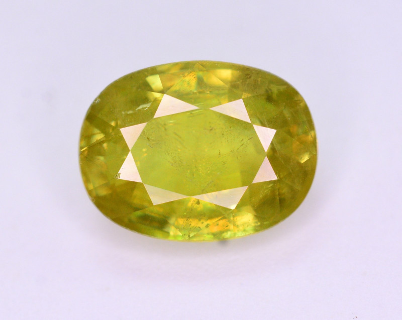 Top Fire 2.55 Ct Natural Tanzanian Sphene