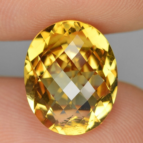 4.90 Cts Fancy Golden Yellow Color Natural Citrine Gemstone
