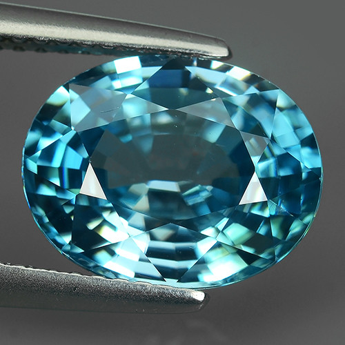 5.60 CTS AWESOME SPARKLE NATURAL RARE BEST BLUE ZIRCON