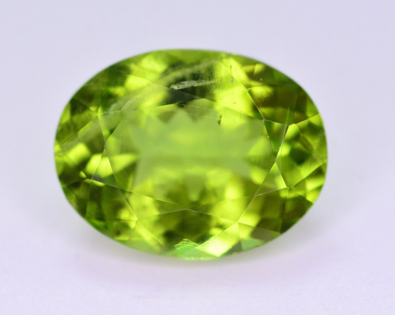 Top Color 3.15 Ct Natural Himalayan Peridot .AP1