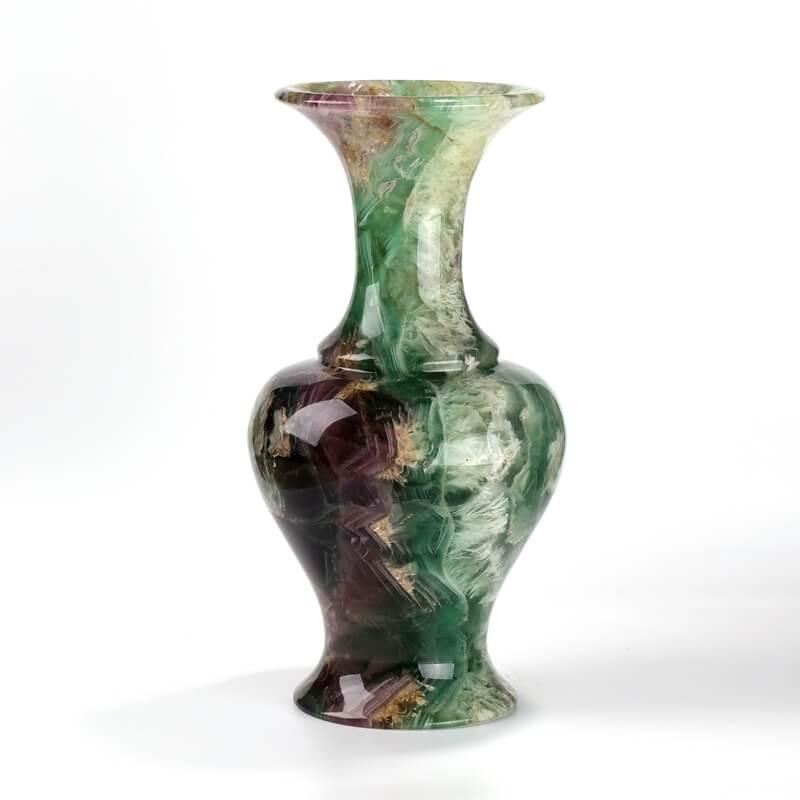 rainbow fluorite vase
