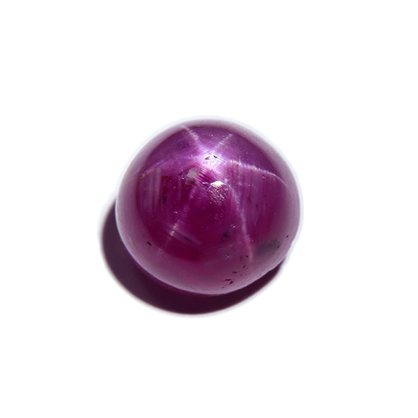 BIG Certified Star Ruby 4.42ct, untreated (00486)