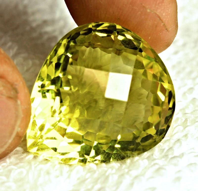 CERTIFIED - 42.21 Ct.  VVS African Lemon Quartz