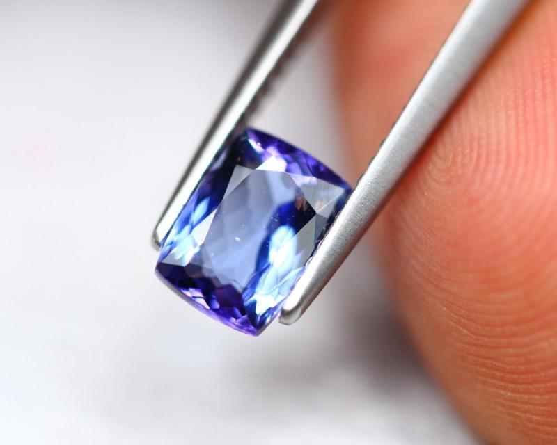 1.48ct Violet Blue Tanzanite Octagon Cut Lot GW4225