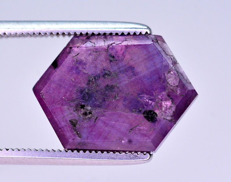 Rarest 6.10 Ct Corundum Sapphire Trapiche From Kashmir Valley AAT2