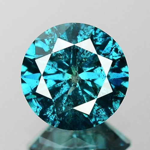0.82 Cts Sparkling Fancy Intense Blue Color Natural Loose Diamond