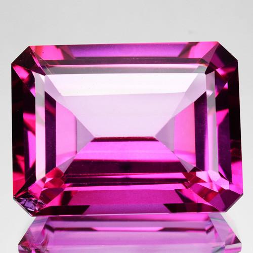 ~CANDID~ 27.89 Cts Candy Pink Natural Topaz 20x15mm Octagon Cut Brazil
