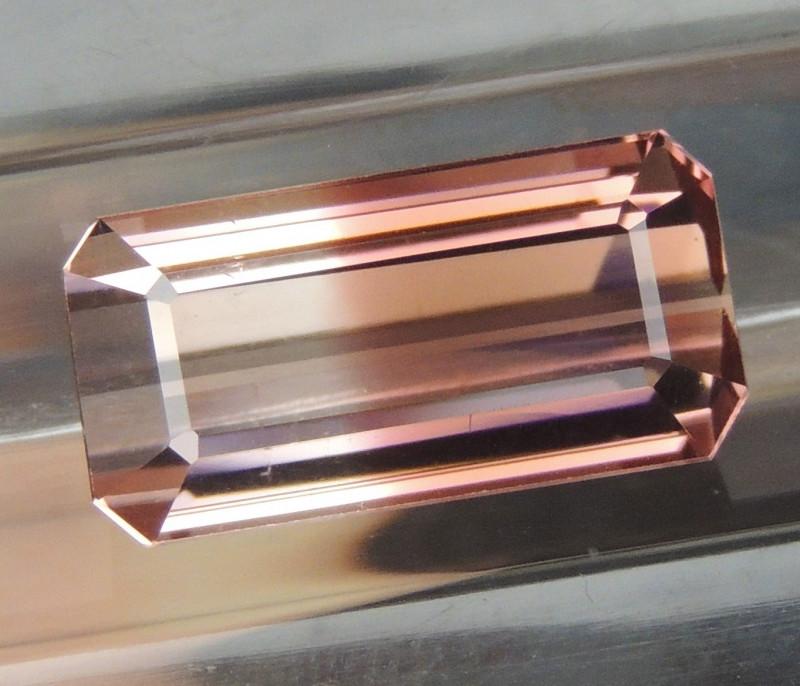 10.35cts Bi-Color Tourmaline, Untreated