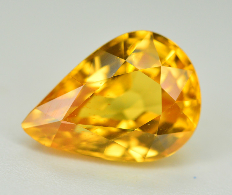 3.70 Ct Gorgeous Color Natural Yellow Zircon