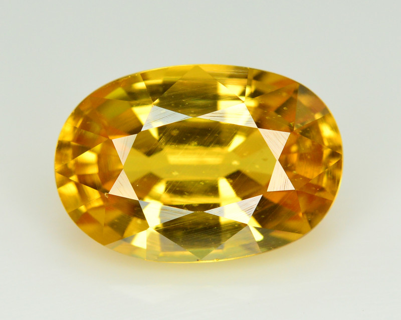 6.55  Ct Gorgeous Color Natural Yellow Zircon