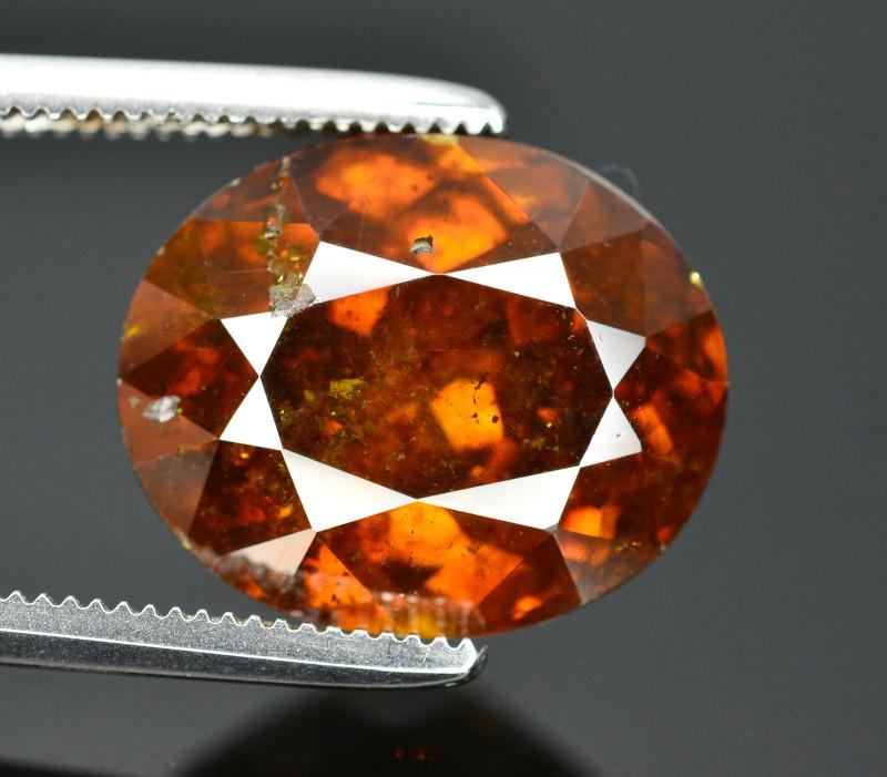 Rare 7.20 Ct  Natural Sphalerite Great Dispersion Spain