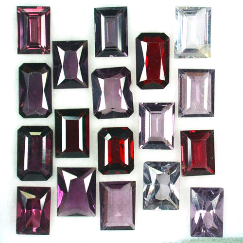 14.93 Cts Natural Fancy Spinel Mix Shape 18Pcs Parcel Burma