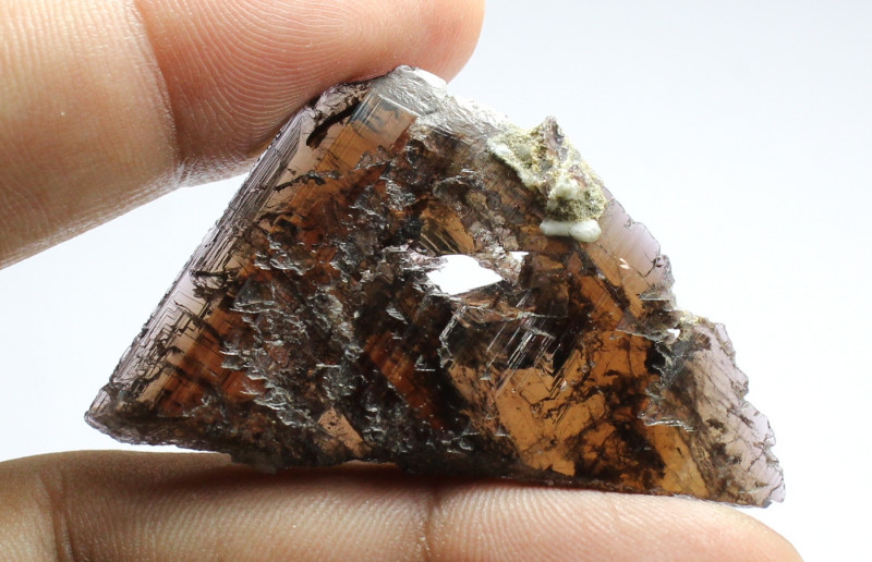 Top Class Rare Color Change Etched Axinite from Skardu Pak
