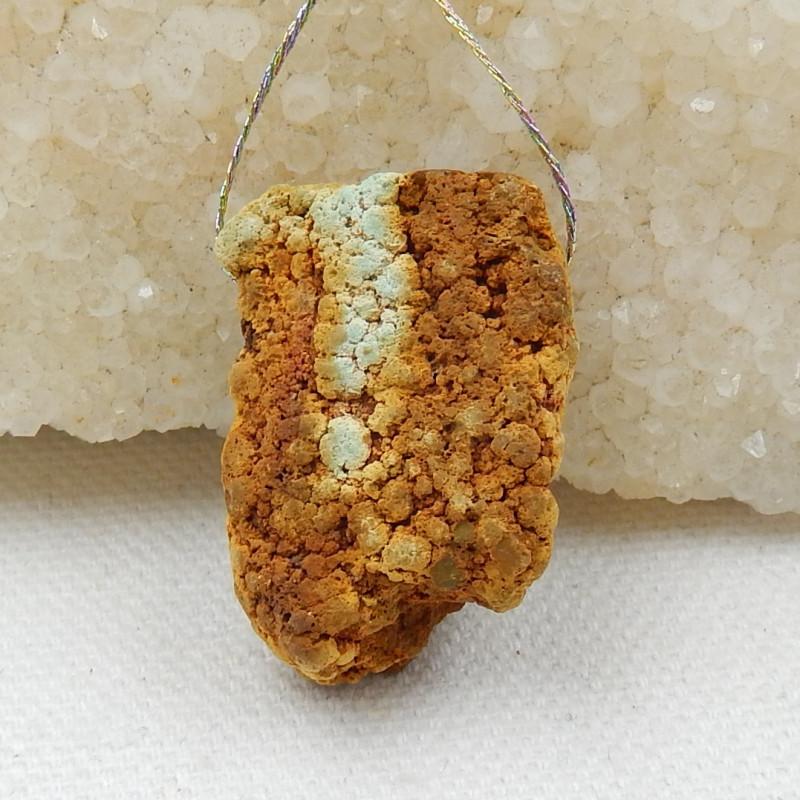 Nugget Turquoise Pendant ,Handmade Gemstone ,Turquoise Cabochons ,Lucky Sto