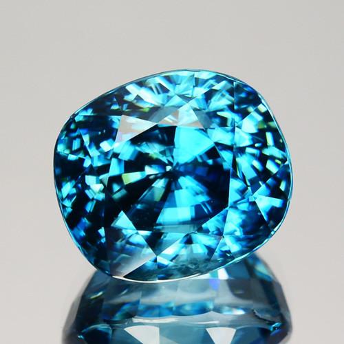~DAZZILING~ 10.50 Cts Natural Zircon - Blue - Cambodia Gem