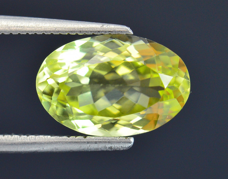 3.58 Ct Rare Sillimanite Awesome Color Cut Gems Quality SL1