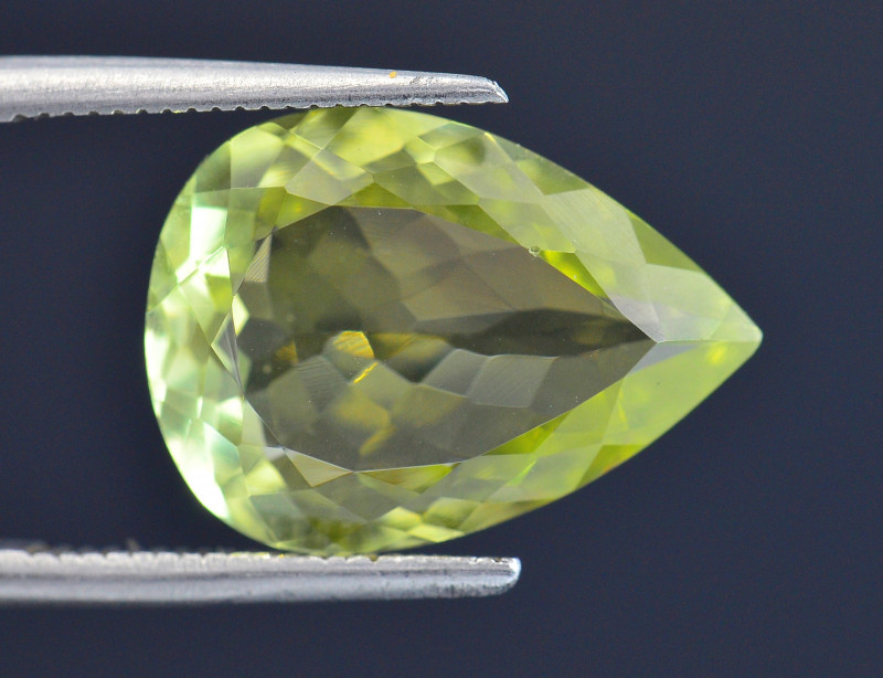 6.43 Ct Rare Sillimanite Awesome Color Cut Gems Quality SL2