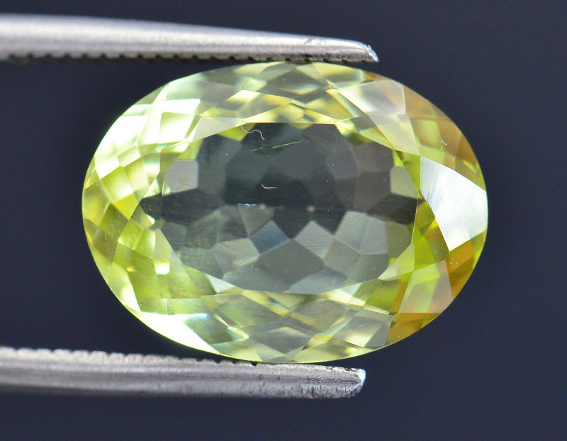 5.94 Ct Rare Sillimanite Awesome Color Cut Gems Quality SL3