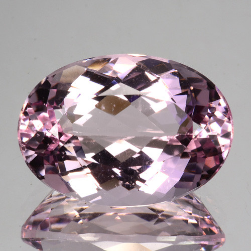 ~STUNNING~ 5.65 Cts Natural Unheated Pink Morganite 14x10mm Oval Cut Brazil