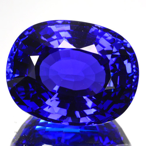 ~DAZZLING~ 20.25 Cts Natural AAA+ Blue Tanzanite D