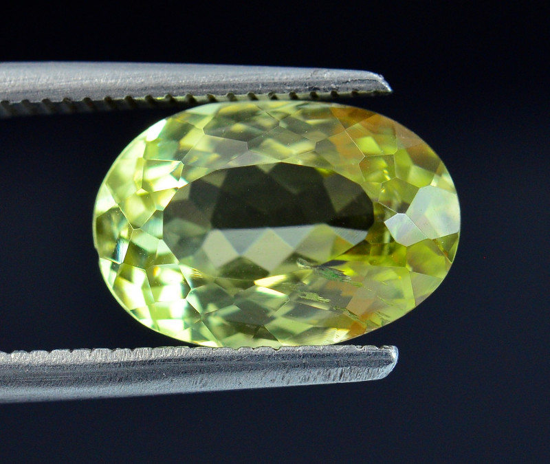 3.53 Ct Rare Sillimanite Awesome Color Cut Gems Quality SL6