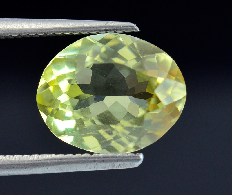3.45 Ct Rare Sillimanite Awesome Color Cut Gems Quality SL7