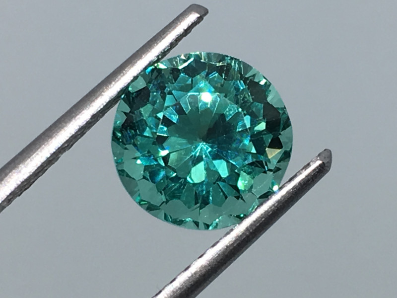 2.27 Carat VVS Apatite Neon Paraiba Color Custom Cut and Polish Quality !