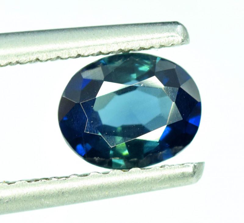 1.40 CT Bi-Color Flawless Parti Sapphire